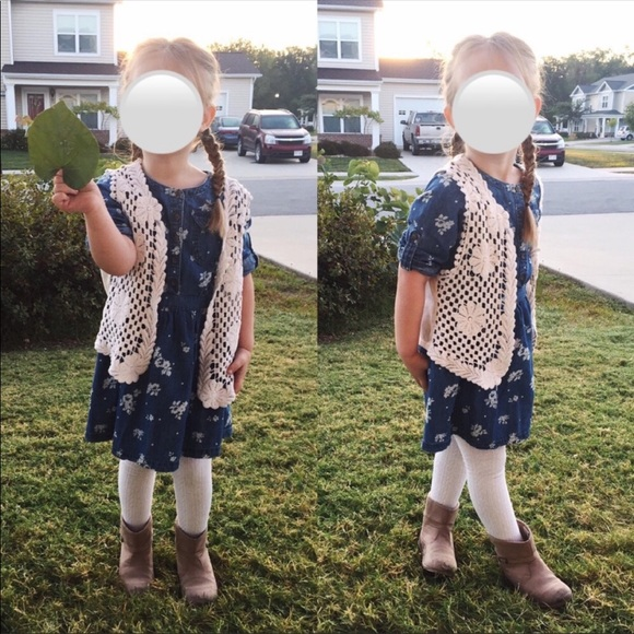OshKosh B'gosh Other - Genuine Kids | Osh Kosh | Denim Floral Tunic Dress